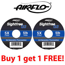 Airflo G3 Sightfree Flurocarbon 100m (Buy One Get One Free) **2015 Stocks*******