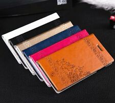 Luxury Leather Flower Wallet Case Flip Cover For Apple iPhone 6 / iPhone 6 Plus