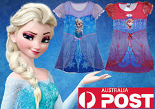 Clearance Sale NEW Frozen Elsa Anna Nightie Costume 3-6 Years 999 FB