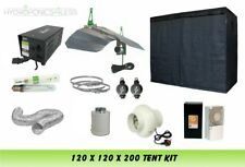 Best Complete Hydroponic Grow Room Tent Fan Filter Light Kit 600watt 120x120x200