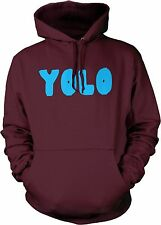 Big Texas YOLO (Blue) Unisex Hooded Sweatshirt