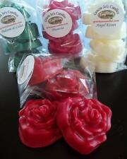 Fruit Citrus Melon Scents Wax Melts Soy Tarts Rose Shape Candle Fragrance Home