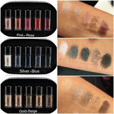MAC Objects of Affection PIGMENT SETS glitter Holiday Gold Beige Pink Rose blue