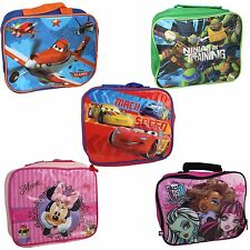 Character & Disney Official Insulated Lunch Bag - 5 Designs to choose from