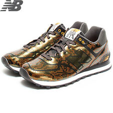 Mens New Balance 574 Classic Running Sneakers New, Tropical Lion Fish ML574ALO