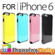 Heavy Duty Tough Slim Armor Case Cover for iPhone 6 4.7 inches