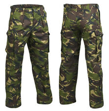 BRITISH ARMY DPM WINDPROOF RIPSTOP COMBAT TROUSERS - NEW !! - GENUINE ARMY ISSUE