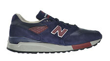 New Balance 998 Men's Shoes Navy/Red m998-mb