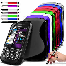 S-Line Slim TPU Sports Wave Gel Phone Case for Blackberry Classic Q20