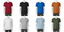 Gold Toe Mens Crew Tee Shirt Various Sizes and Colors