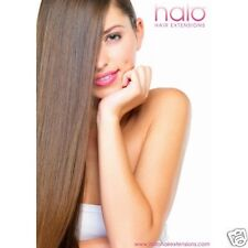"""Halo Hair Extension 16"""" One piece, 100% Remy Human Hair."""