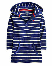 *BNWT* Joules Jnr Rockpooler Towelling Cover Up - Navy Stripe - NEW FOR SS15