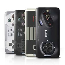 STUFF4 Back Case/Cover for HTC One/1 E8/Games Console
