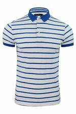 Mens Polo Shirt by FCUK/ French Connection Striped Short Sleeved