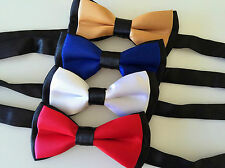 1PC Kid baby Party School Pre-tied Wedding Boy Satin bow tie Necktie bowtie PROP