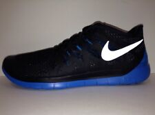 Nike Free 5.0 (GS) Kids Sneakers BLACK/PHOTO BLUE (Sizes 4-5.5 Youth) 644428 003