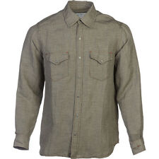 Ryan Michael & Barn Fly Trading Vintage Pick Stitch Houndstooth Shirt -