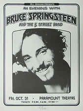 366  Vintage Music Poster Art  Bruce Springsteen  *FREE POSTERS