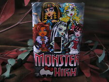 Monster High Group Light Switch Wall Plate Cover #MH09 - Outlet Double