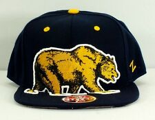 CALIFORNIA GOLDEN BEARS BERKELEY CAL HAT NCAA FLEX FITTED CAP NEW BY ZEPHYR F-41