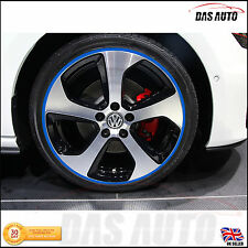 ALLOY WHEEL RIM PROTECTORS - LTD EDITION COLOURS mini audi ford vw trim sticker