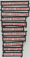 AFL  ST KILDA  FOOTBALL CLUB    DUFFLE COAT NAME TAGS.   No2