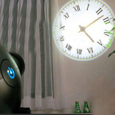 LED Projector Wall Clock Cold Light Virtual Shadow Home Bedroom Dream Projector