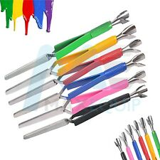 ACRYLIC NAIL PINCHER Multifunction Magic Wand MULTI COLOURS Cuticle Pusher Tool