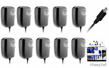 10 New Micro USB AC Universal Battery Travel Home Wall Charger for Samsung Phone