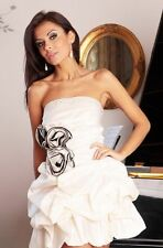 RRP £90 New Ladies Gown Cocktail Party Wedding Evening Formal Prom Mini Dress