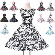 Vintage SEXY Petticoat 50s 60s Rockabilly Swing Pinup Jive Dot Cotton Prom Dress