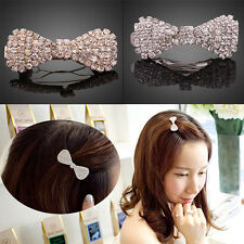 Korean Princess Alloy Diamonds Bowknot Hairpin Lovely Hairpin Hair Accessories