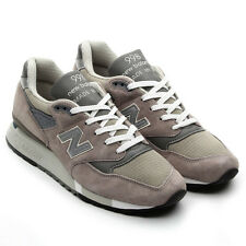 "[M998] NEW BALANCE THE 998 ""MADE IN USA"" GRY/BEIGE/BROWN MEN'S SIZE NIB LIMITED"