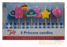 Birthday Cake Candles Novelty Party Princess or Cars. Tala