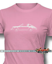 Porsche 911 Targa 1970 Women T-Shirt - Multiple Colors and Sizes