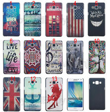 HQ Styish Ultra Thin Printed PC Hard Back Case Cover For Samsung Galaxy A3 A5 A7
