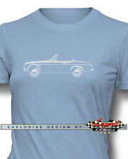 Datsun 2000 1600 Fairlady Roadster T-Shirt for Women - Multiple Colors and Sizes