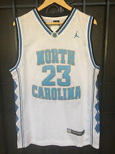 Michael Jordan #23 NORTH CAROLINA TARHEELS UNC white JERSEY NEW Adult FREE SHIP