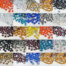 1440pcs Iron On Hotfix ss3-ss40 Crystal Rhinestones Many Colors Scrapbook Craft