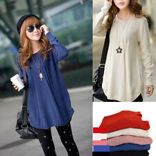 New Women Oversized Loose Knitted Sweaters Batwing Sleeve Tops Cardigan Outwear