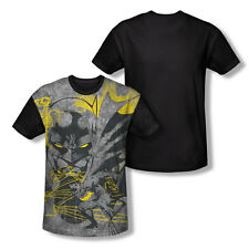 Batman Symbiotic Adult All Over Print T-Shirt With Black Back