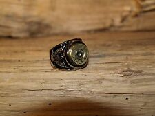 Handmade SS Eagle Bullet Ring 45 or 44 bullet- W or W/O Crystals RM101