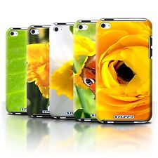 STUFF4 Back Case/Cover/Skin for Apple iPod Touch 4/Floral Garden Flowers