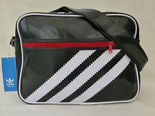 Genuine ADIDAS Vintage Retro Messenger Bag Shoulder Logo/Stripe Bag BNWT-RP£35