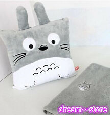 【SALE】 My Neighbor Totoro Miyazaki Coral Carpet Quilt Cushion Soft Stuffed Toy