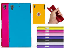 Slim Hard Rubberized Matte Snap-On Shell Case Cover For Various Sony Cell Phone
