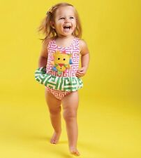 Mud Pie Safari Lion Geometric Swimsuit
