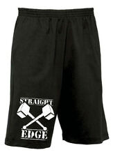 "Shaking Ground Straight Edge ""Hammer"" Move Shorts S-XXL, SXE XXX Hardcore"