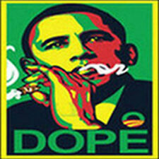 President Barack Obama Smoking Weed Marijuana 420 Pot Kush Funny T-Shirt Tee