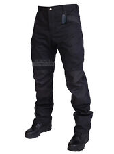 Tactical Cargo Pants SWAT Trousers Combat Military Pant ATACS AU FG Black